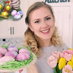 Eggcellent ASMR 🥚 4 Ways to Decorate Eggs 🥚 Soft Spoken, Memories, Crinkly, Fizzy, Colorful