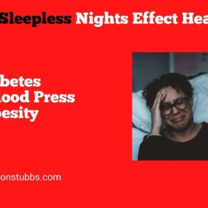 How A Lack of Sleep Affects Your Health