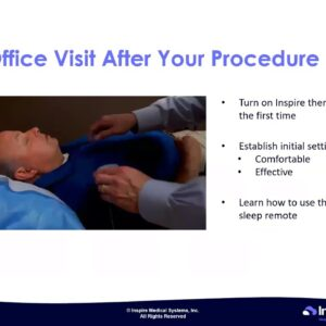 Dr. Veena Vats, Inspire Sleep Therapy's Surgeon as she presents the art of two incision approach.