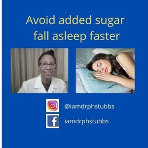 Avoid Added Sugar to Fall Asleep Faster